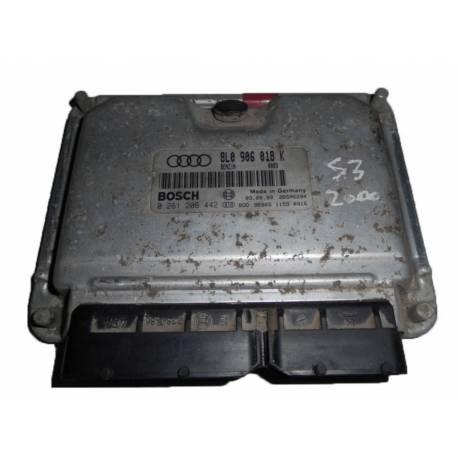 Calculateur moteur  pour Audi S3 ref 8L0906018K / 0261206442