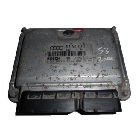 Engine control / unit ecu motor for Audi S3 ref 8L0906018K / 0261206442