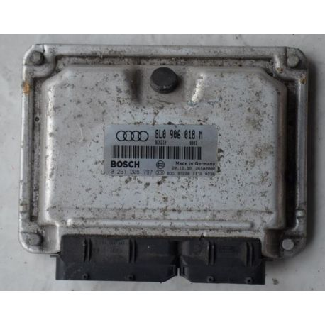Engine control / unit ecu motor for Audi S3 ref 8L0906018M / 0261206797