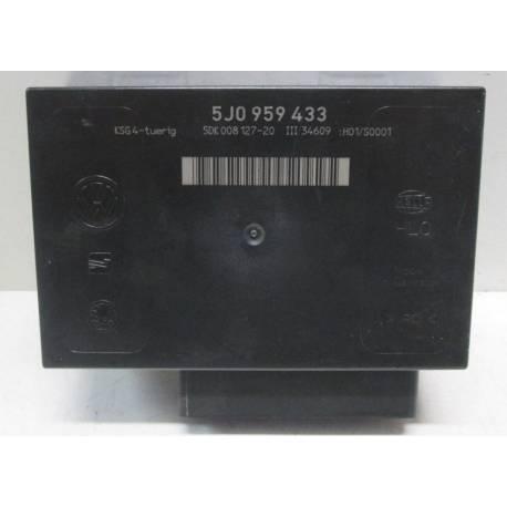 Boitier confort / Commande centralisée pour système confort ref 5J0959433 pour Skoda Fabia / Roomster