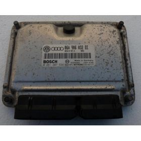 Calculator de inyeccion motor para Audi A3 / Seat Leon / Toledo 1L8 ref 06A906032EE / 0261207534