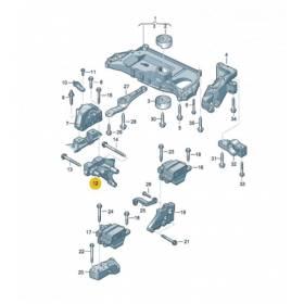 Motor support / console / rest ref 03G199207 03G199207A 03G199207G 03G199207B 03G199207F