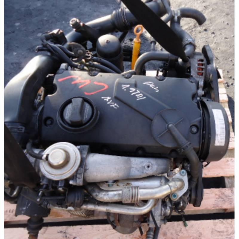 Motor, Engine 1l9 Tdi 115cv Type Ajm For Vw Passat, Audi
