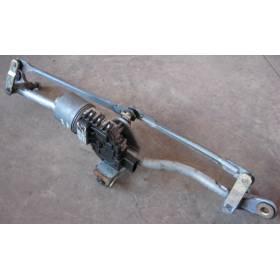 Windshield wiper bracket with wiper motor Audi A4 B6 ref 8E1955119 / 0390241509 / 8E1955603D