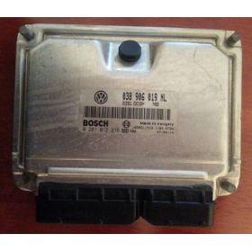 Engine control / unit ecu motor for Seat / Skoda 1L9 TDI 100 cv AXR ref 038906019NL / 0281012276