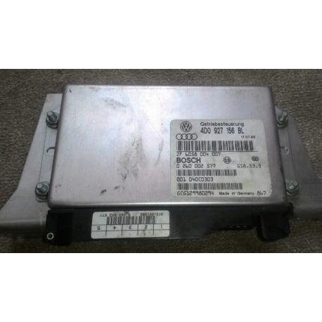 Calculateur électronique pour boite de vitesses automatique 5 rapports Audi A8 ref 4D0927156BL / 0260002577