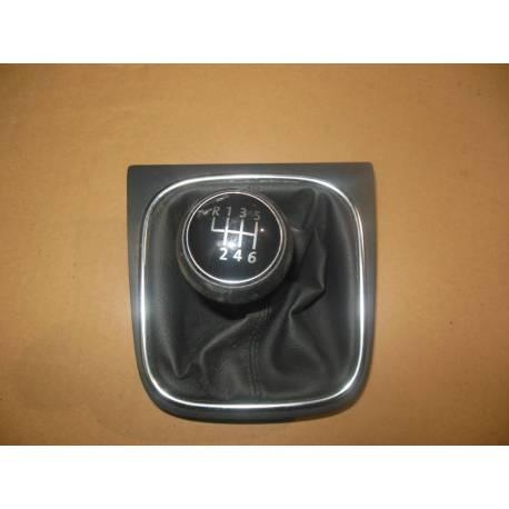 Pommeau + soufflet pour boite 6 rapports pour VW Golf 5 / Jetta ref 1K0711113CG  UZD / 5K0711113E UZD