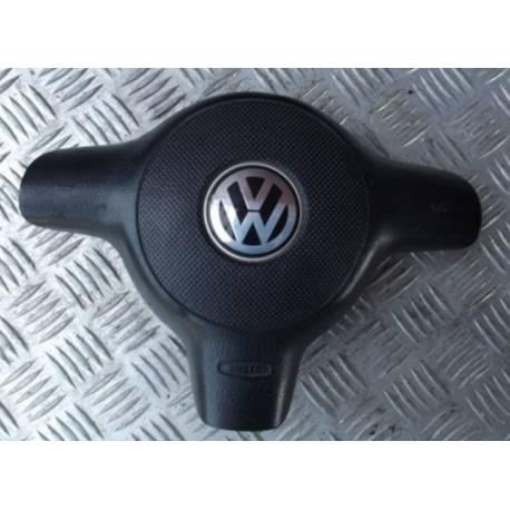 Airbag conducteur / Module de sac gonflable VW Polo / Fox ref 6X0880201A / 6X0880201B / 6X0880201C / 6X0880201D / 6X0880201E