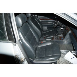 Panneau revetement garniture de porte avant conducteur for Interieur cuir audi a4