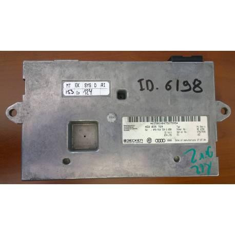 Interface case with software / ref 4F0910729Q / 4E0035729 / 4F0910732HX pour AUDI A6 4F