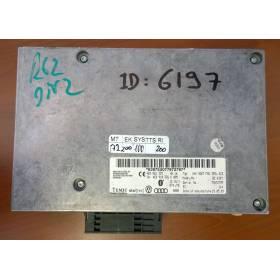 Caja de interfaz con software / ref 4E0910336K / 4E0910336L / 4E0910336M / 4E0910336MX / 4E0862335