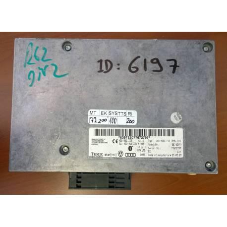 Interface case with software / ref 4E0910336K / 4E0910336L / 4E0910336M / 4E0910336MX / 4E0862335