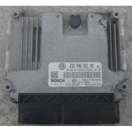 Calculator VW Touran 1L9 TDI ref 03G906021MM / Ref Bosch 0281014044