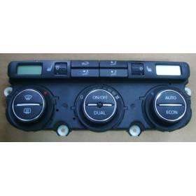 Climatronic pour VW Passat 3C ref 3C0907044J / 3C0907044Q / 3C0907044AC /  3C0907044AH / 3C0907044BB