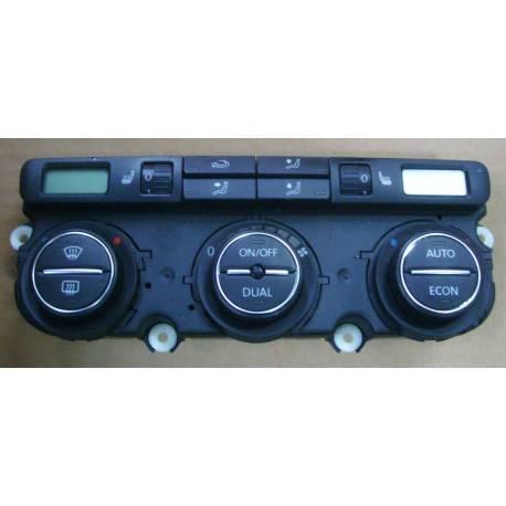 Climatronic pour VW Passat 3C ref 3C0907044AH / 3C0907044BB