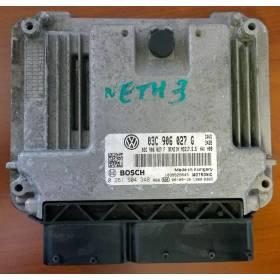 Calculateur moteur pour 1L4 TSI CAV / CAVD ref 03C906027G / Ref Bosch 0261S04348