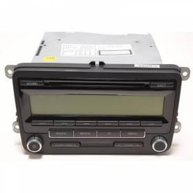 Autoradio CD RCD 310 pour VW Amarok / Caddy / Golf / Eos / Jetta / Passat / CC / Scirocco / Touran ref 1K0035186AA / 1K0057187AX
