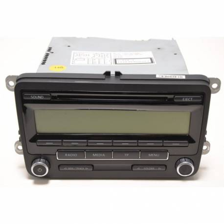 Car radio CD RCD 310 for VW Amarok / Caddy / Golf / Eos / Jetta / Passat / CC / Scirocco / Touran ref 1K0035186AA / 1K0057187AX