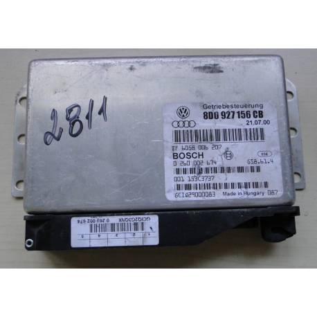 Calculateur électronique pour boite de vitesses automatique 5 rapports Audi A4 / VW Passat ref 8D0927156CB / 0260002674