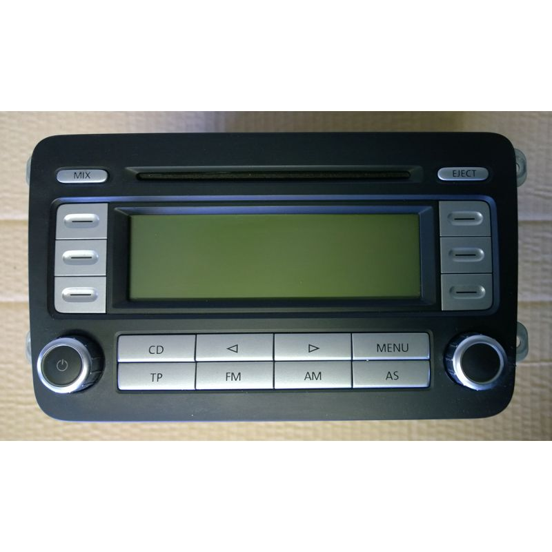 car radio rcd 300 for vw ref 1k0035186r sale auto spare. Black Bedroom Furniture Sets. Home Design Ideas