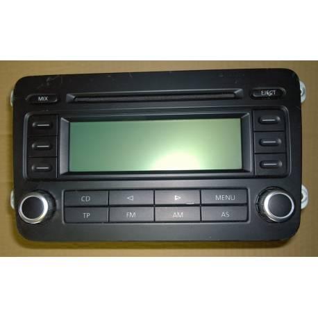 Autoradio RCD 300 pour VW ref 1K0035186P