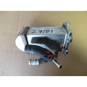 Cooler for recirculation of exhaust gas for Audi / VW 2L7 / 3L V6 TDI ref 059131512H 059131511