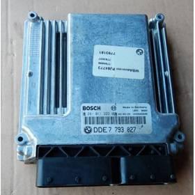 Calculateur moteur Bosch pour BMW ref 0281011223 / DDE 7 793 027 / 7793027