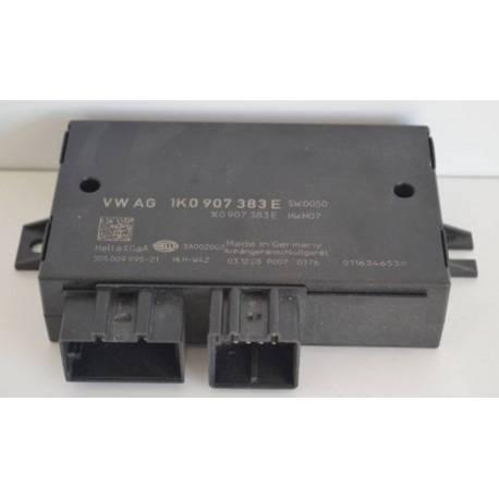 Calculateur pour capteur d'attelage Audi / Seat / VW / Skoda ref 1K0907383D / 1K0907383E / 1K0907383F