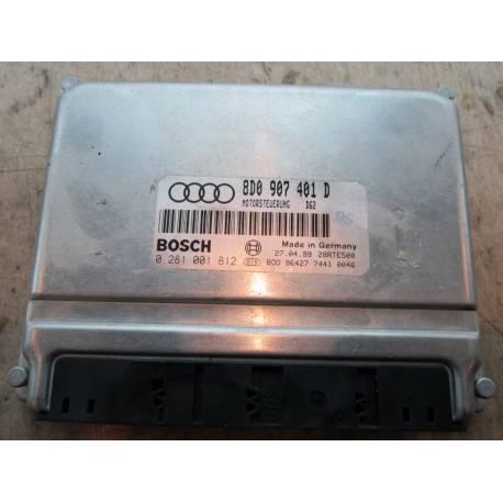 Calculateur moteur pour Audi A4 2L5 V6 tdi 150 ref 8D0907401D / 0281001812