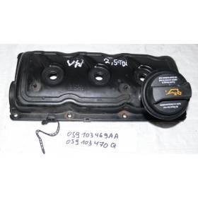 2 couvre culasse pour Audi / Skoda / VW 2L5 V6 TDI ref 059103470Q / 059103469AA