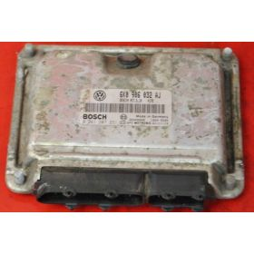 Calculateur moteur pour Seat Ibiza / Cordoba 1.4 MPI ref 6K0906032AJ / Bosch 0261207231