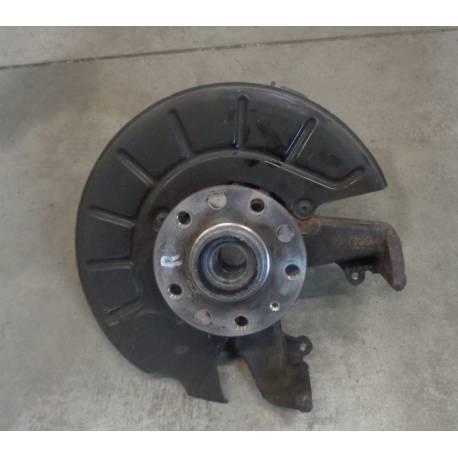 Fusée cache roulement avant passager pour Audi / Seat / VW / Skoda ref 1K0407256T + Moyeu roulement ref 1T0498621