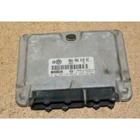 Calculateur moteur pour VW Bora / Golf 4 ref 06A906018DC / 06A997019CX / 0261206180