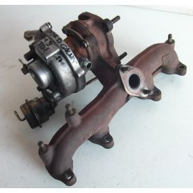 Turbo pour 1L9 TDI ref 038253019A / 03G253016K / 03G253016KX