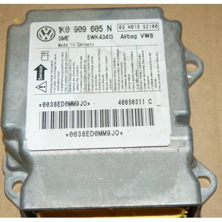 Calculateur d'airbag VW Seat Skoda 1K0909605L 1K0909605N 1K0909605R 1K0909605T