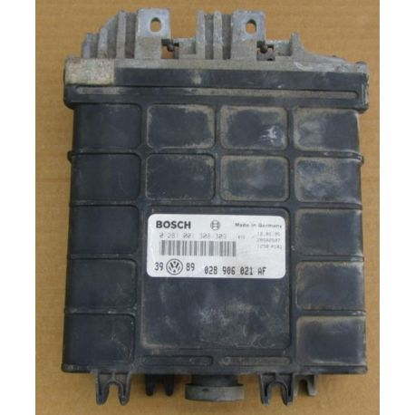 Calculateur moteur VW Golf 3 TDI 1L9L Diesel AHU ref Bosch 0281001649 / 028906021BF / 0281221308/309 / 028906021AF / 028906021GG