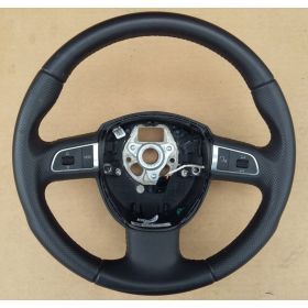 Sport leather steering-wheel multiprocessing for Audi A3 / A4 Q5 ref 8R0419091G TNA / 8R0419091G WUL