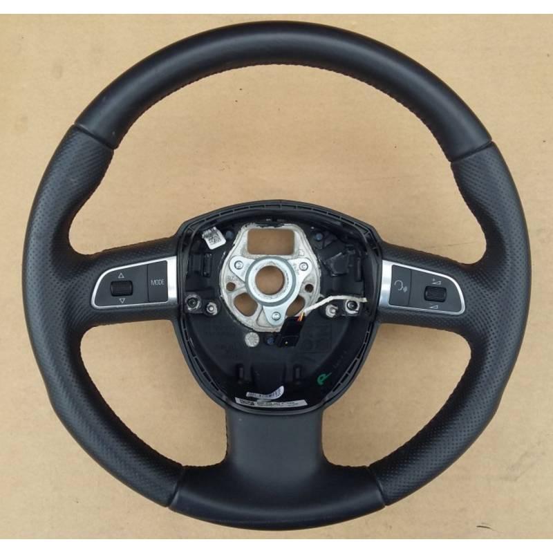 volant sport multifonctions en cuir pour audi a3 a5 q5 ref 8r0419091f wul volant de. Black Bedroom Furniture Sets. Home Design Ideas