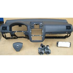 dashboard VW Golf 5 ref 1K1857001B / 001J 81X / 1K1857001F 81X + 2 airbag + belt + airbag computer