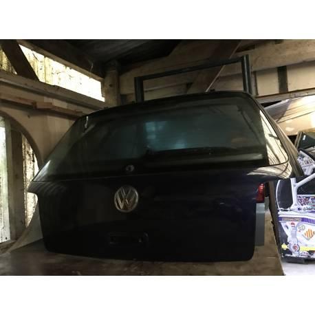 Malle arrière hayon pour VW Golf 4 coloris bleu nuit