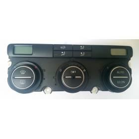 Climatronic pour VW Passat 3C ref 3C0907044AF / 3C0907044AT
