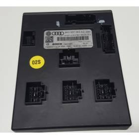 Onboard supply control unit  Audi A4 / A5 / Q5 ref 8K0907063AJ / 8K0907063DG / 8K0907063AL / 8K0907063DL