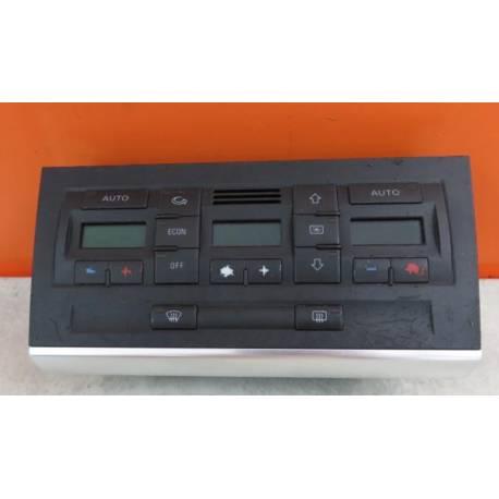 Unité de commande d'affichage pour climatiseur / Climatronic pour Audi A4 type B6 ref 8E0820043 / 8E0820043H / 8E0820043AA