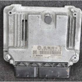 Calculator inyeccion motor diesel usado 2L TDI EDC17C46 ref 0281019114  / 03L906018QJ 03L907309AG
