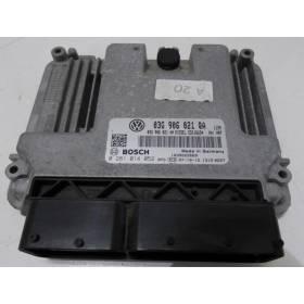 ecu engine VW Golf 5 plus 1L9 TDI ref 03G906021QA / Ref Bosch 0281014052 / EDC16U34