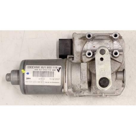 Motor limpiaparabrisas Audi TT type 8J ref 8J1955119 / 8J1955119A / 8J1910113 / Valeo 405.025