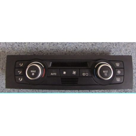 Unité de commande d'affichage pour climatiseur / Climatronic pour BMW E90 E91 E92 E93 E84 E87 E81 X1 ref 6411.9147299-01