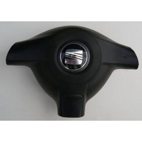 Airbag volant / Module de sac gonflable pour Seat Leon 1 / Toledo ref 1M0880201J