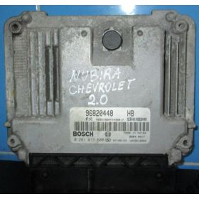 Injection engine control / unit ecu motor Chevrolet Lacetti / Nubira 2L TDCI ref 96820448HB / 0 281 013 600 / 0281013600