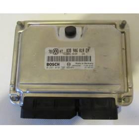 Calculateur moteur pour VW Passat 1L9 TDI 130 cv moteur AVF ref 038906019EN / Ref Bosch 0281010705 / 0 281 010 705